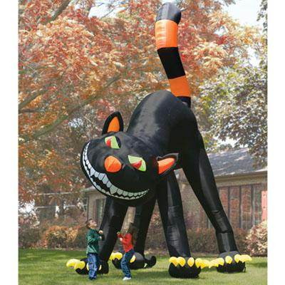 The Giant Inflatable Black Cat