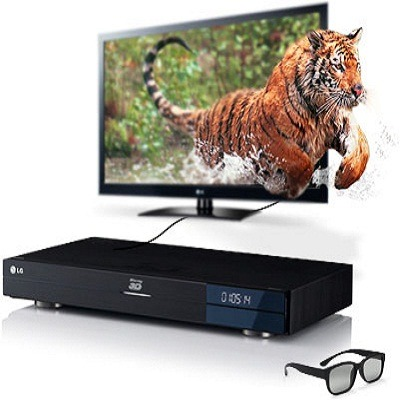 LG BD690 3D Wireless Network Blu-ray Disc Player with Smart TV and 250GB Hard Drive