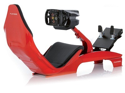 racing simulator chair plans living room cover playseat f1 red - experience real feeling and excitement of driving style car