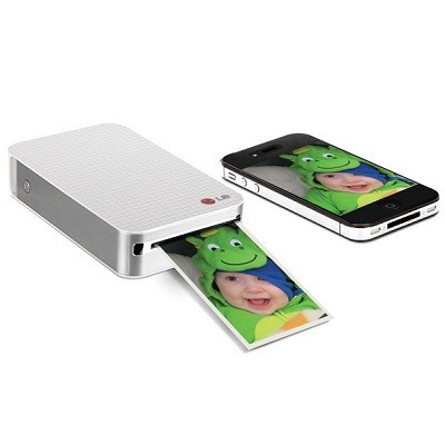 The Portable Smartphone Photo Printer - Prints rich and vibrant photographs in less than a minute