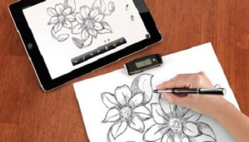 The Instant Transmitting Paper To iPhone Pen