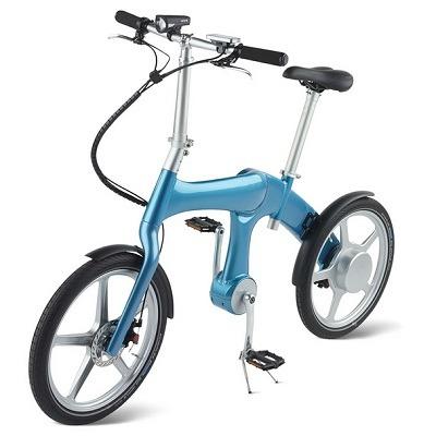 The Self Charging Electric Bike 1