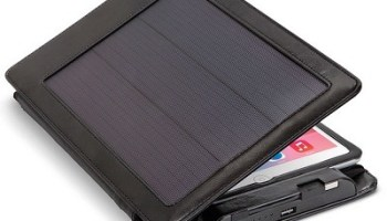 The Solar iPad Case