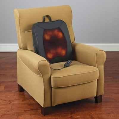 The Portable Shiatsu Deep Tissue Heat and Vibration Massage Cushion