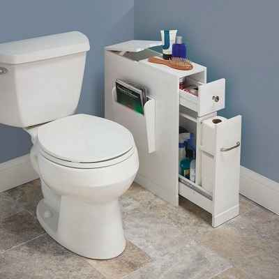 The Tight Space Bathroom Organizer