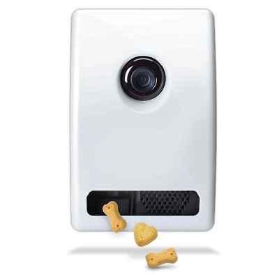 The WiFi Communicating Pet Treat Dispenser