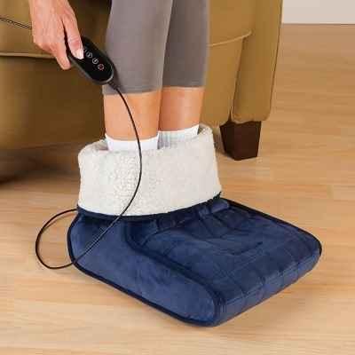 The Heated Foot Muff