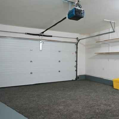The Water Absorbing Garage Mat - Uses patented two-layer design that absorbs water, snow, and mud