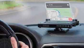 The Head Up Smartphone Navigation Display