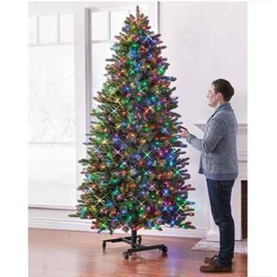 The Remote Controlled Height Adjustable Christmas Tree 1