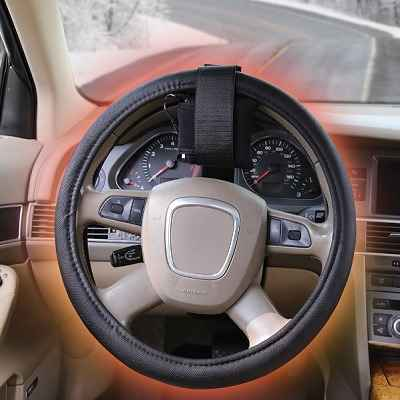 The Heated Steering Wheel Cover
