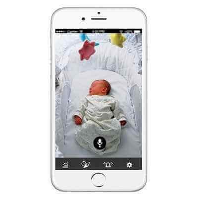The Award Winning Vitals Sensor Camera Baby Monitor 1