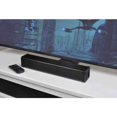 The Voice Clarifying Sound Bar - patented amplifier bar that clarifies sound from a television to help viewers hear dialogue more clearly