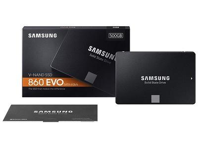 Samsung 860 EVO 500GB 2.5 Inch SATA III Internal SSD 1