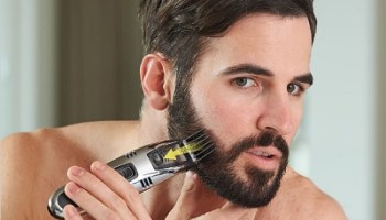 The Messless Beard Trimmer with Built-in Vacuum