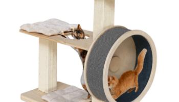 Spinning-Wheel-Cat-Tree