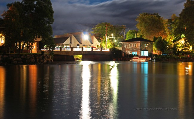 Bobcaygeon Ontario Night Images Along The Trent Severn