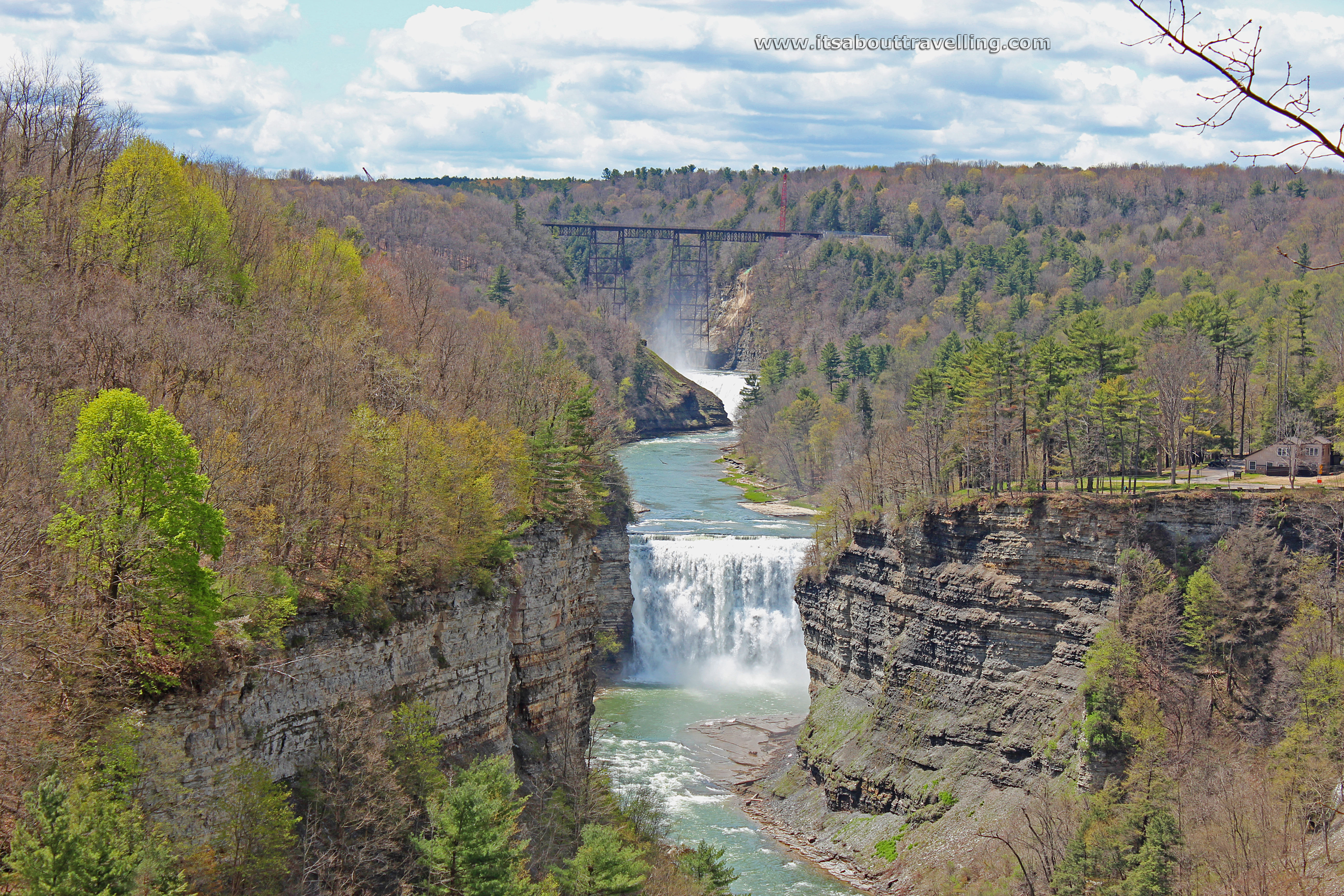 Letchworth State Park In New York Grand Canyon Of The East