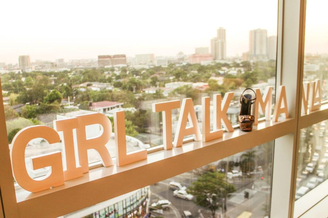 Girl Talk Manila signage