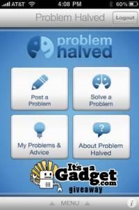 Problem Halved Giveaway