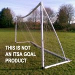 Plastic goal posts-Dipping crossbars Dipping crossbars on plastic goalssamba-goal-posts