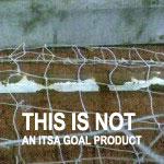 Football Goals, steel-goal-backbar