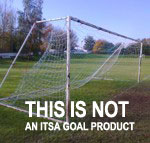 Heavy 'Steel Goalposts' - NOT AN ITSA Goal Product