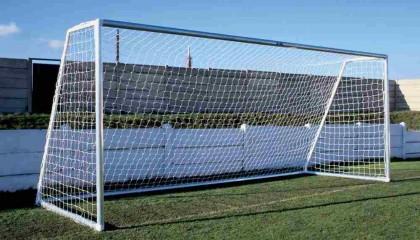 Goal Post Aluminium 9 V 9 – flat pack 16′ x 7