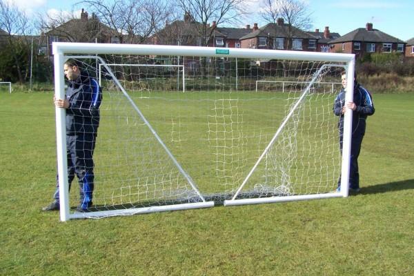 Folding Aluminium Goal Post