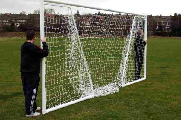 Folding Aluminium Goal posts 16'x7' Lightweight