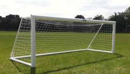 5 a side goal posts – Elliptical Aluminium Free Standing – 12′ x 4′