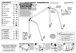 plastic goal fitting instructions