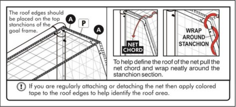 GOALPOST FOLDAWAY CARE AND MAINTENANCE DIAGRAM 4