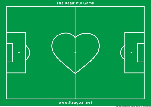 The beautiful game and football goals