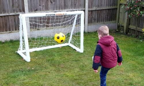 children's goalpost size 4x3