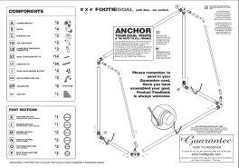 8x4 garden goal instructions
