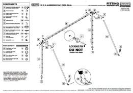 aluminium goalposts for 7v7