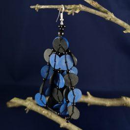 oorbel blauw recycled plastic duurzaam eco fairtrade teenslippers flipflop 1223344752121