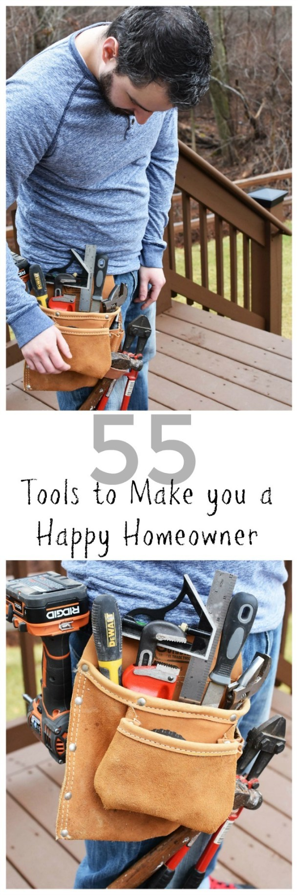 55 Tools to Make you a Happy Homeowner
