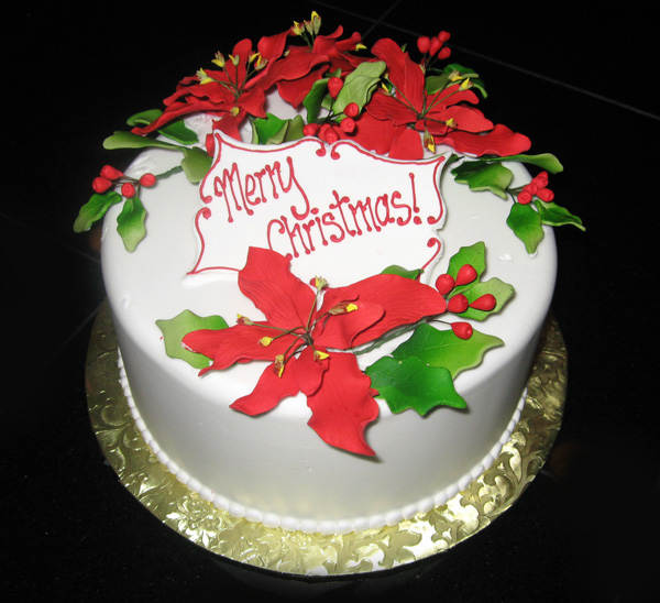 Its All About The Cake Holiday Cakes A Custom Cake