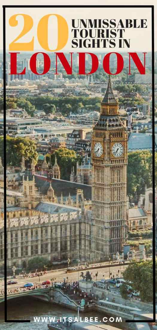 20 Of London's Unmissable Tourist Sights To Add To Your Itinerary Now | Big Ben
