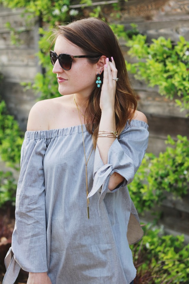 Off The Shoulder Top | Spring Fashion | It's All Chic To Me
