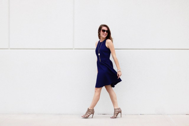 Little Blue Dress | It's All Chic To Me