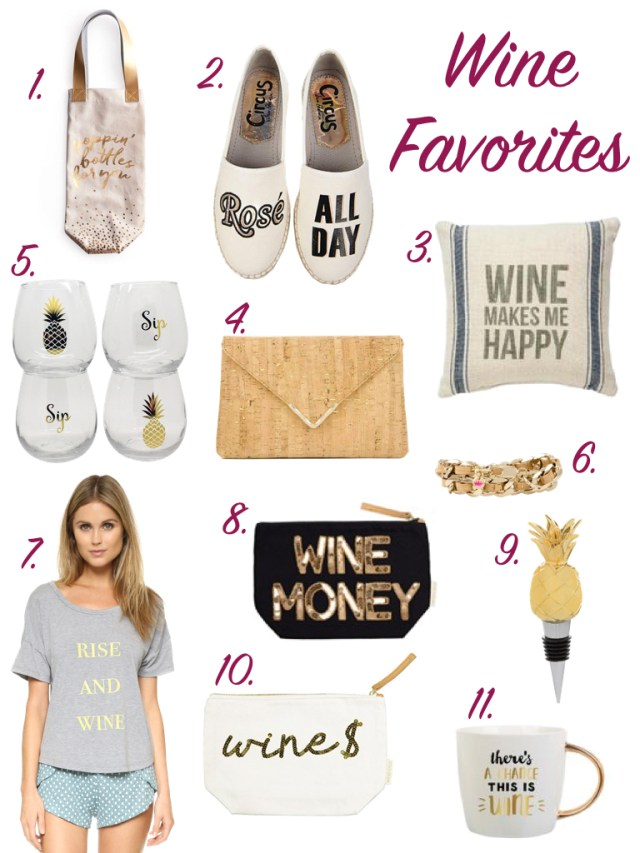 Wine Favorites | Gifts for the Wine Lover | It's All Chic To Me