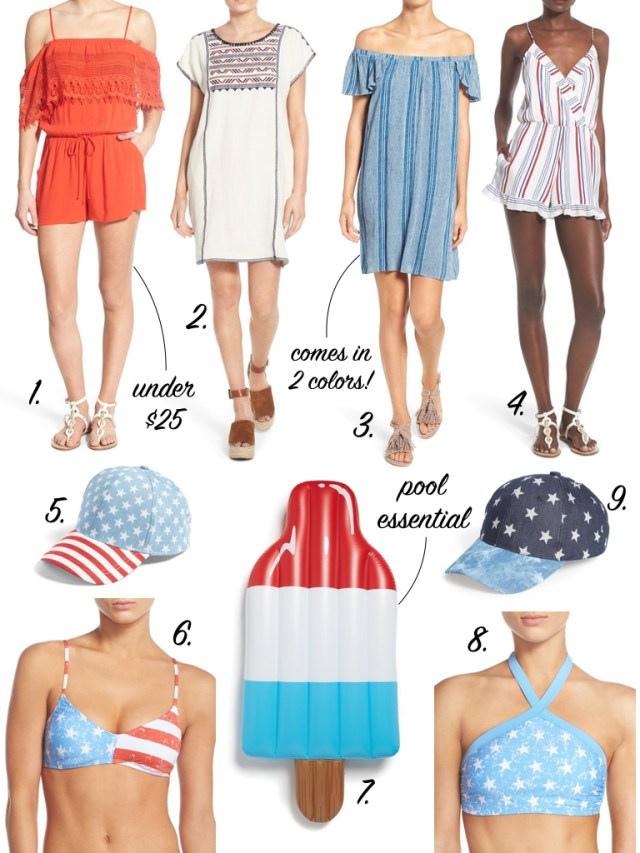 Red, white and blue | Patriotic picks | Fourth of July outfit | It's All Chic To Me