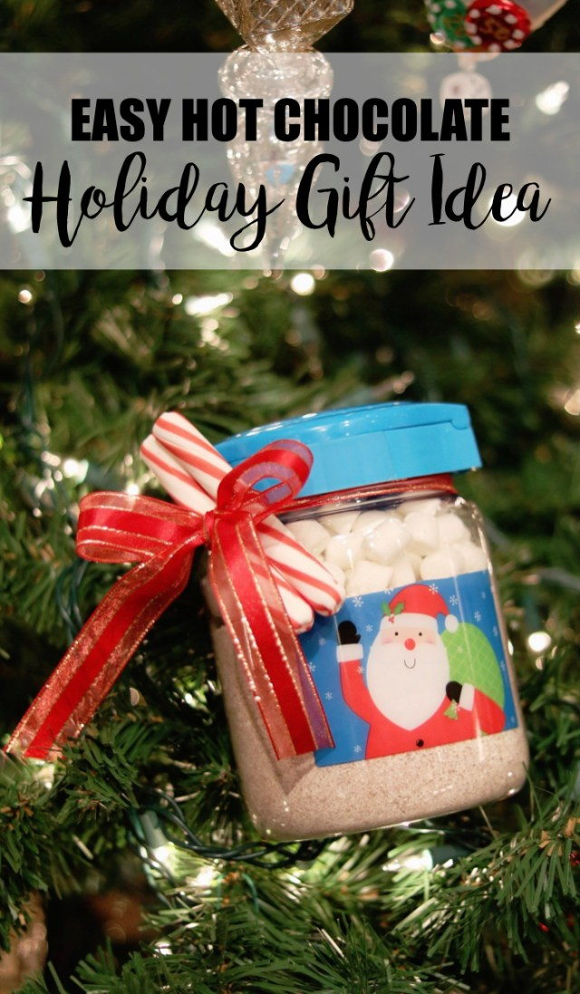 Holiday Hot Chocolate Simple Gift Idea