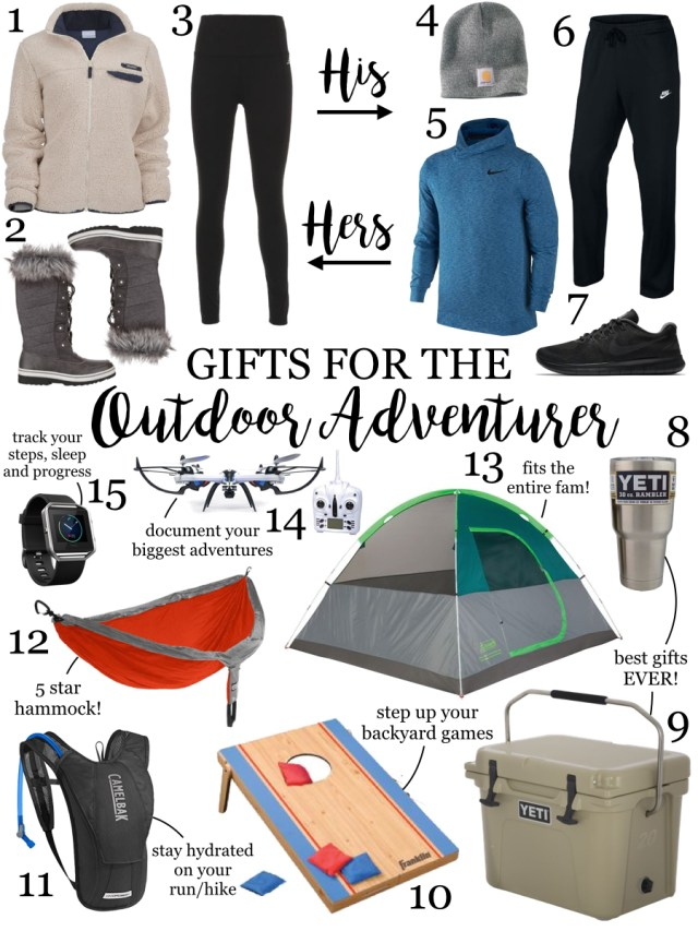 Gift Guide for the Outdoor Adventurer