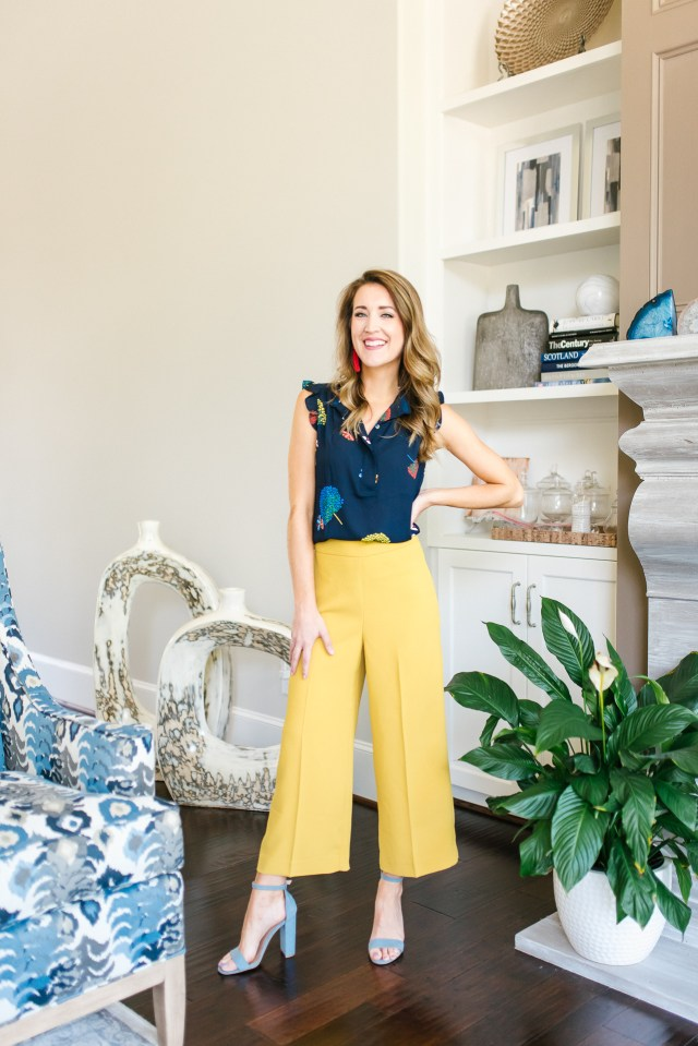 Work Wear Wednesday: Wide Leg Pants