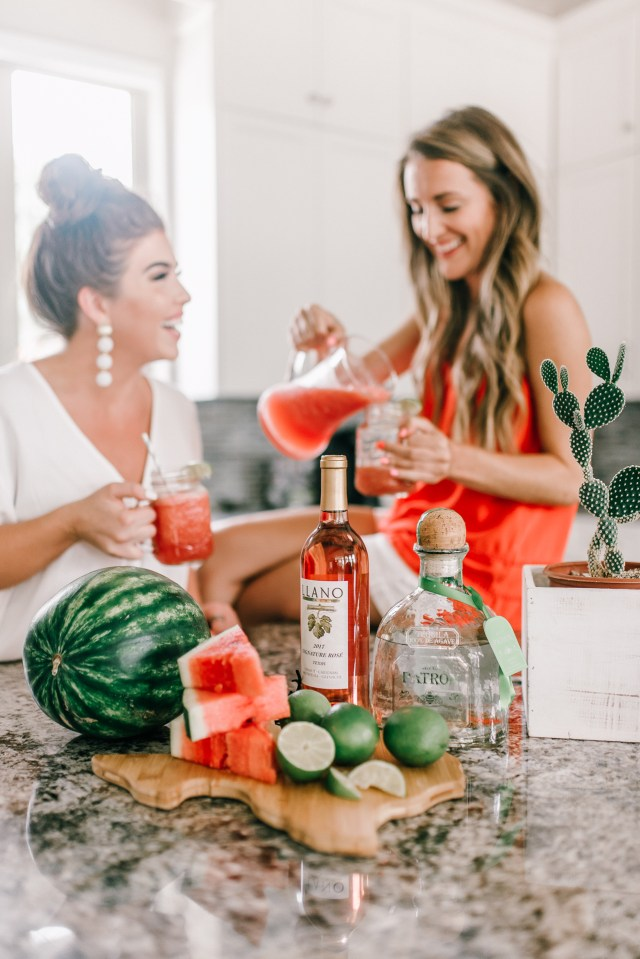 Watermelon Frosé Margarita Recipe
