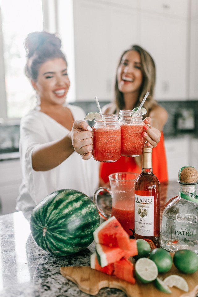 Watermelon Frosé Margarita Recipe